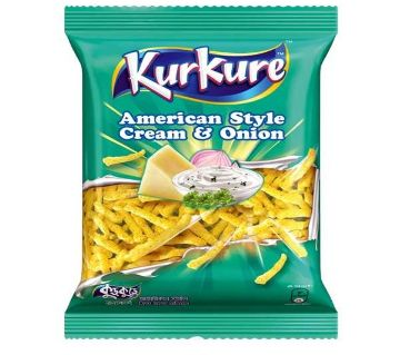 Kurkure American Style Cream & Onion 50g 6 Pack