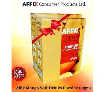 Affix Mango Soft Drinks Powder 125gm 2 Pack Combo