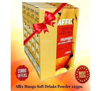 Affix Mango Soft Drinks Powder 125gm 4pac Combo