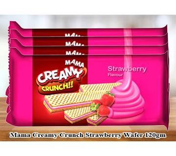 Mama Creamy Crunch Strawberry 120g 4Pack