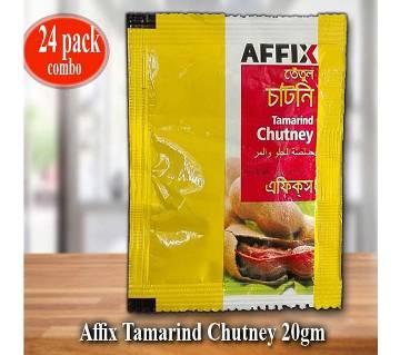 Affix Tamarind Chutney-20gm 24Pcs