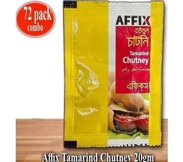 Affix Tamarind Chutney-20gm 72Pcs