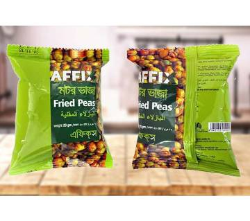 Affix Fried Green Peas (Motor Bhaja)  20pcs
