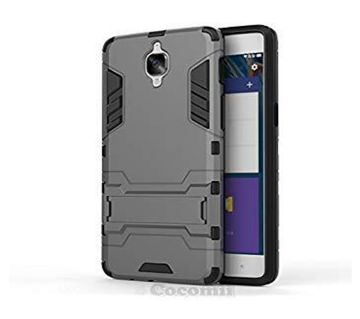 Armor Back Cover for Oneplus 3 (1+3) -Black