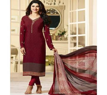 Vinay Silkina Royal Crepe Unstitched Three Piece