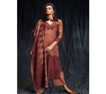 Ganga Mashiyyat Pure Pashmina Printed Salwar Kamiz Copy