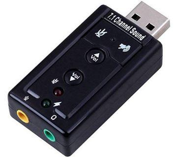 USB সাউন্ড কার্ড Card 7.1 চ্যানেল
