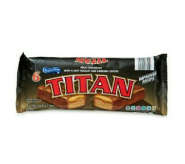 Titan চকলেট বার ৬×৩৮=২২৮ গ্রাম, (uk)