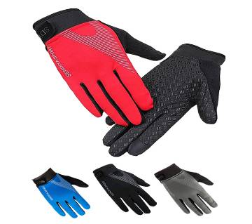 Cycling Breathable Full Finger Touch Screen Gloves