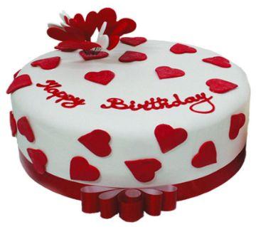 Valentine Theme Vanilla Cake 1Kg