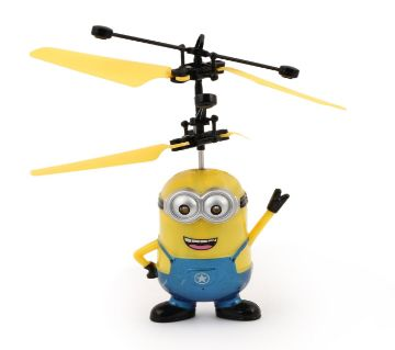 Flying Toy Despicable Me 3 Minion Induction Control Aircraft - Yellow