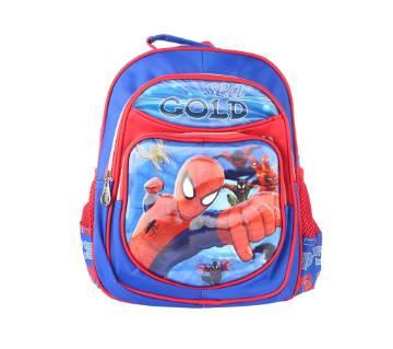 Raksin School Bag For Kids - Blue and Red