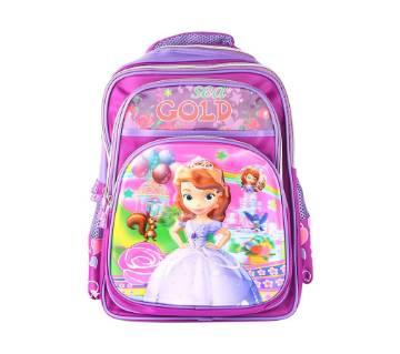 Princes School Bag For Kids - Purple