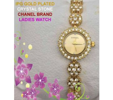 2019 latest IPG Gold Plated Ladies Watch