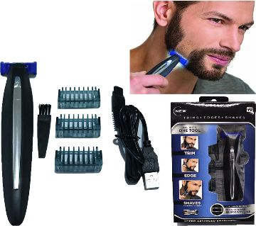 Micro Touch SOLO Mens Rechargeable Full Body Hair Trimmer, Shaver and Groomer