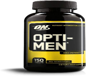 Product details of Opti-Men - 90 Tablets Nutrient Optimization System Daily Multivitamin for Overall Mens Health Essential Daily Nutrients in One Con
