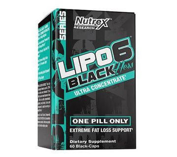 LIPO 6 Black Hers Ultra Concentrate Fat Loss For Women-60 Capsules-USA