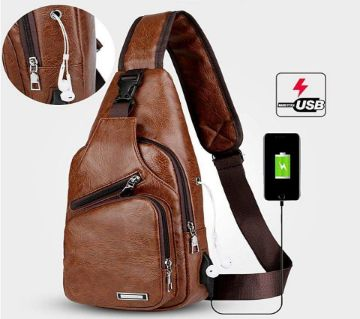 Haodier Unisex Crossbody Backpack