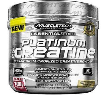 MuscleTech Platinum 100% Creatine Powder, 80 Servings USA