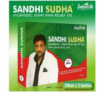 Sandhi Sudha Plus আয়ুর্বেদিক তেল 600 মিলি ইন্ডিয়া