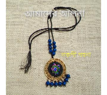 Fusion Embroidery Pendent