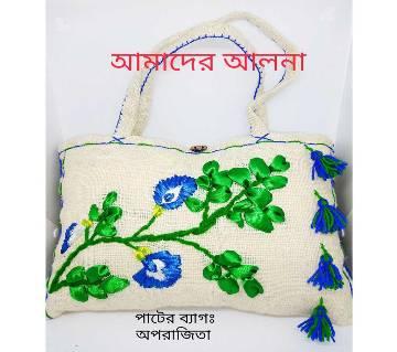 Jute Hand Bag: Aporajita
