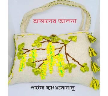 Jute Hand Bag: Sonalu