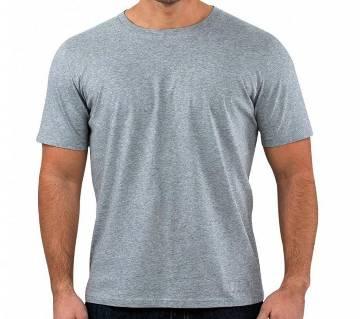 Grey Solid Color T shirt