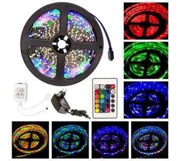 RGB LED স্ট্রিপ লাইট - ৩ কালার