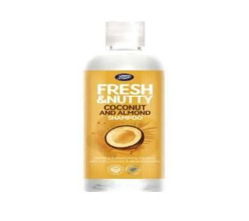 Fresh & Nutty Coconut & Almond শ্যাম্পু 500ml - UK