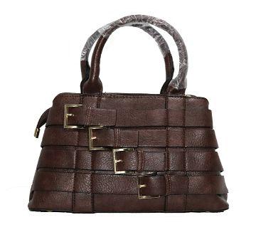 Belt Designed Leather Handbag