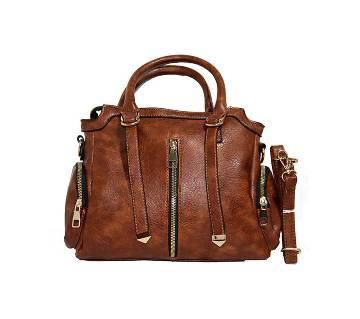 Chain Designed Leather Handbag
