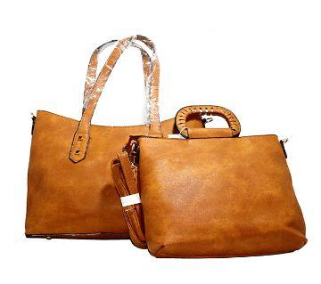 Casual Leather Handbag