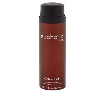 Calvin Klein Euphoria বডি স্প্রে ফর মেন 150gm USA