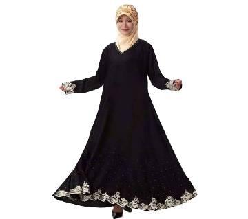 Black BMW Abaya for Women