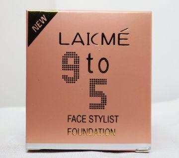 LAKME 9to 5 face stylist foundation 15g China