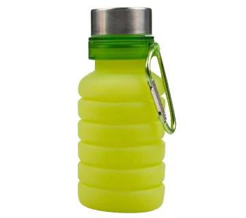 Portable Silicone Water Bottle, Retractable Folding Bottle, Outdoor Travel Drinking Collapsible Sport Drink Bottle