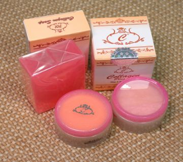 Collagen Plus Combo of Vit E Day Cream Night Cream and Soap- 170g Thailand