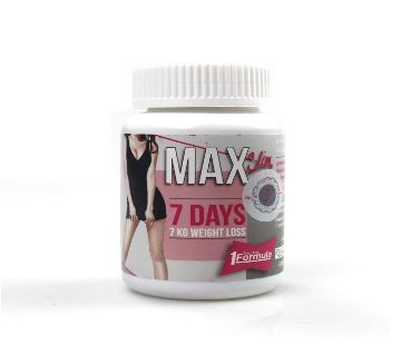 Max Slim 7 Days Weight Loss Capsules