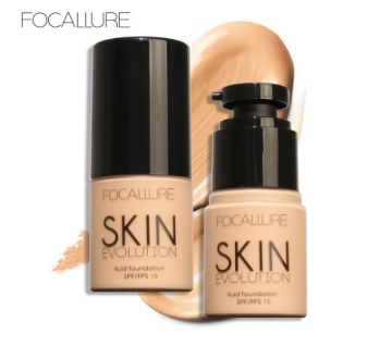 Face Foundation Makeup by Focallure is a lightweight foundation treatment that boosts radiance to leave skin silky smooth. How to use: Apply using a b