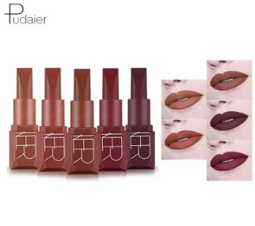 Pudaier Matte Liquid Lipstick 5 Colors Waterproof Lipstick (China)