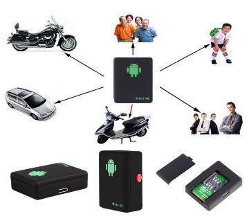 Mini A8 GPS Tracker GPRS Locator Real Time Car Kids GSM / GPRS-Black