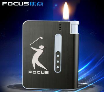 Focas Cigarette Case with Lighter