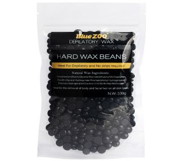 Hard Wax Bean Hair Remover (Black) 100g China