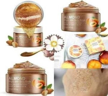 BIOAQUA Almond Bright Skin Body Scrub - 120gm - China