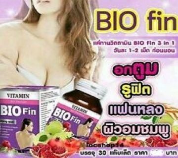 Vitamin Bio Fin Capsule 30pcs - Thailand