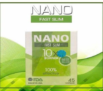 Nano Fast Slim First Slimming Product 45 Capsules USA