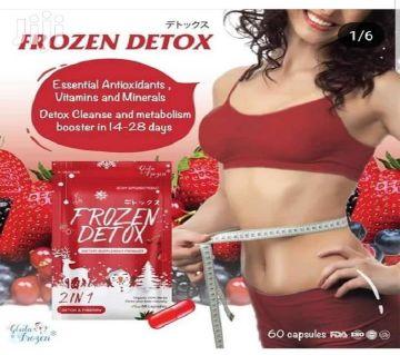 100% original Frozen Detox Dietary Supplement Product 2in1 Detox and Fiberry - Thailand
