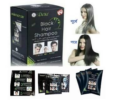 Dexe Black Hair Shampoo-25ml-UK