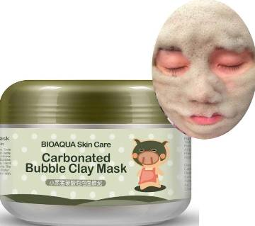 Bioaqua carbonated bubble clay mask 100g - China